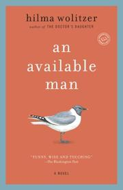 AN AVAILABLE MAN by Hilma Wolitzer
