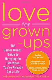 Cover art for LOVE FOR GROWN-UPS