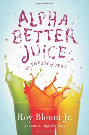 Cover art for ALPHABETTER JUICE