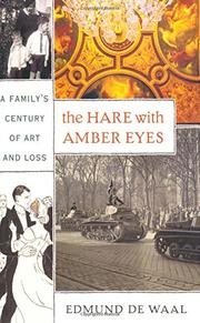 Cover art for THE HARE WITH AMBER EYES