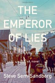 Cover art for THE EMPEROR OF LIES