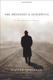 Book Cover for THE DRUGGIST OF AUSCHWITZ