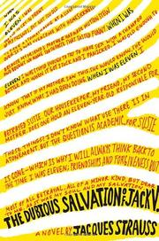 THE DUBIOUS SALVATION OF JACK V. by Jacques Strauss