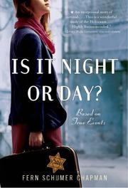 Book Cover for IS IT NIGHT OR DAY?
