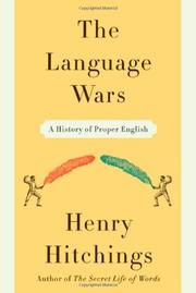 Cover art for THE LANGUAGE WARS
