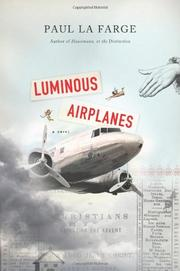 Book Cover for LUMINOUS AIRPLANES