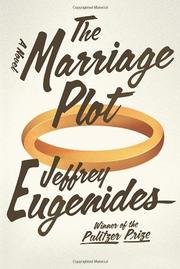 Cover art for THE MARRIAGE PLOT