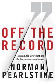 Cover art for OFF THE RECORD