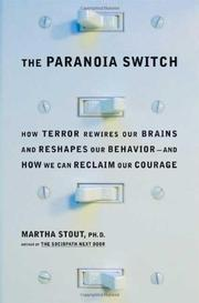 Book Cover for THE PARANOIA SWITCH
