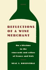 Cover art for REFLECTIONS OF A WINE MERCHANT