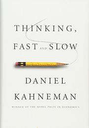 Cover art for THINKING, FAST AND SLOW