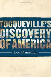 Cover art for TOCQUEVILLE'S DISCOVERY OF AMERICA
