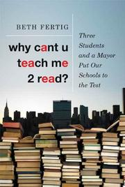 Book Cover for WHY CANT U TEACH ME 2 READ?