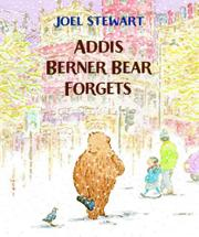 Book Cover for ADDIS BERNER BEAR FORGETS