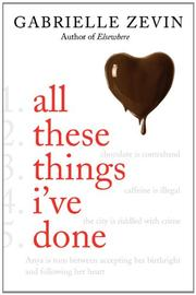 Book Cover for ALL THESE THINGS I'VE DONE