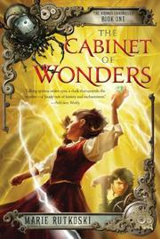 Cover art for THE CABINET OF WONDERS