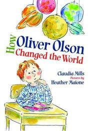 Book Cover for HOW OLIVER OLSON CHANGED THE WORLD