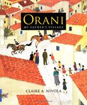 Cover art for ORANI