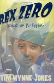 Cover art for REX ZERO, KING OF NOTHING