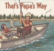 Cover art for THAT'S PAPA'S WAY
