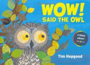Cover art for WOW! SAID THE OWL