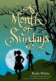 Book Cover for A MONTH OF SUNDAYS