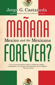 Book Cover for MAÑANA FOREVER?