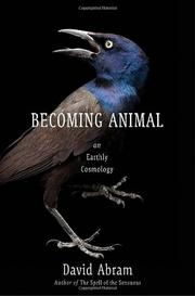 Cover art for BECOMING ANIMAL