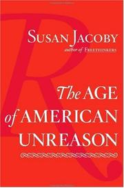 Cover art for THE AGE OF AMERICAN UNREASON