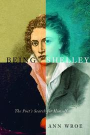 Cover art for BEING SHELLEY