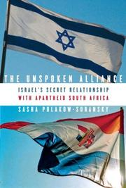 THE UNSPOKEN ALLIANCE by Sasha Polakow-Suransky