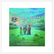 Cover art for A SONG IN BETHLEHEM