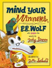 Cover art for MIND YOUR MANNERS, B.B. WOLF