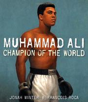 MUHAMMAD ALI by Jonah Winter