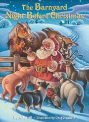 Book Cover for THE BARNYARD NIGHT BEFORE CHRISTMAS