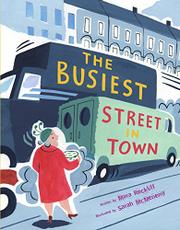 Book Cover for THE BUSIEST STREET IN TOWN