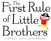 Cover art for THE FIRST RULE OF LITTLE BROTHERS
