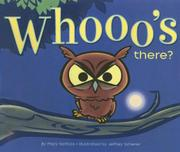 Cover art for WHOOO'S THERE?