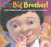 Cover art for WHAT A GOOD BIG BROTHER!
