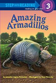 AMAZING ARMADILLOS by Jennifer Guess McKerley