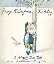 Book Cover for GEORGE WASHINGTON'S BIRTHDAY