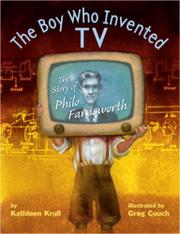 Cover art for THE BOY WHO INVENTED TV