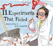 Cover art for 11 EXPERIMENTS THAT FAILED