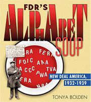 FDR'S ALPHABET SOUP by Tonya Bolden