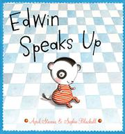 Cover art for EDWIN SPEAKS UP