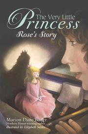 Book Cover for THE VERY LITTLE PRINCESS:  ROSE'S STORY