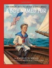 Cover art for A BOY NAMED FDR