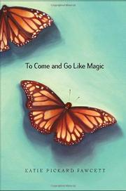 Cover art for TO COME AND GO LIKE MAGIC