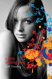 Cover art for A LITTLE WANTING SONG