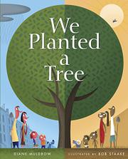 Book Cover for WE PLANTED A TREE